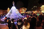 Bentonville square lighting 11/21/15