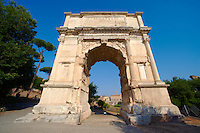 Arch Of Titus, The Forum Rome