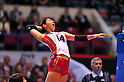 Yukiko Ebata (JPN),  .NOVEMBER 17,2011 - Volleyball : FIVB Women's Volleyball World Cup 2011,4th Round Tokyo(A) during match between Japan 3-2 Germany at 1st Yoyogi Gymnasium, Tokyo, Japan. (Photo by Jun Tsukida/AFLO SPORT) [0003].