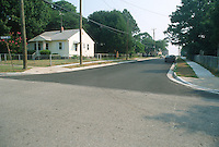 1993 July 09..Conservation.Cottage Line..NEW STREET LOOKING NORTH ON WARWICK FROM VIRGILINA...NEG#.NRHA#..