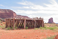 Shed in  Monument Valley, Navajo Tribal Park, Arizona, USA