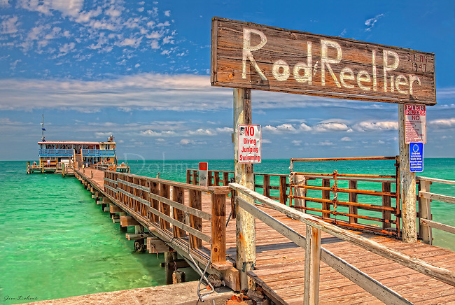 Reel Rod Rod And Reel Pier Anna Maria