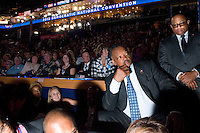 CHARLOTTE, NC - September 4, 2012 - Rev. Jesse Jackson at the 2012 Democratic National Convention at the Time Warner Cable Arena.