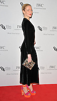 Clara Paget at the IWC Schaffhausen Filmmakers Bursary Award &amp; Gala Dinner, Rosewood London Hotel, High Holborn, London, England, UK, on Tuesday 04 October 2016.<br /> CAP/CAN<br /> &copy;CAN/Capital Pictures /MediaPunch ***NORTH AND SOUTH AMERICAS ONLY***