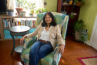 NWA Democrat-Gazette/JASON IVESTER<br /> Smita (cq) Vadlamani (cq); photographed on Wednesday, Jan. 25, 2017, in her favorite place - the sunroom in her Rogers home