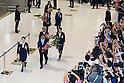 Nadeshiko Japan women's soccer team arrives home after World Cup