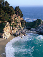 McWay Falls along the Big Sur Coast, California.