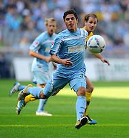 2. Oktober 2011: Muenchen, Allianz Arena: Fussball 2. Bundesliga, 10. Spieltag: TSV 1860 Muenchen - SG Dynamo Dresden: Muenchens Kevin Volland am Ball.