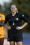 09 September 2016: West Virginia's Michelle Newhouse. The Duke University Blue Devils hosted the West Virginia University Mountaineers at Koskinen Stadium in Durham, North Carolina in a 2016 NCAA Division I Women's Soccer match. West Virginia won the match 3-1.