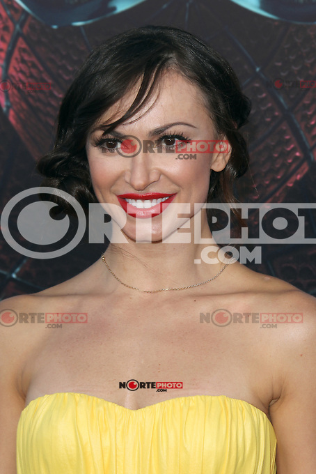 Karina Smirnoff at the premiere of Columbia Pictures' 'The Amazing Spider-Man' at the Regency Village Theatre on June 28, 2012 in Westwood, California. &copy; mpi22/MediaPunch Inc. *NORTEPHOTO.COM*<br />
