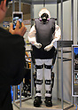 Nobember 9, 2011, Tokyo, Japan - &quot;Robot Suit HAL&quot; for Well-being is on display during the International Robot Exhibition 2011 opened in Tokyo on Wednesday, November 9, 2011. The three-day trade show, sponsored by the Japan Robot Association, was designed promote new products and develop new business through contributing the promotion of new technology. (Photo by Natsuki Sakai/AFLO) [3615] -mis-..