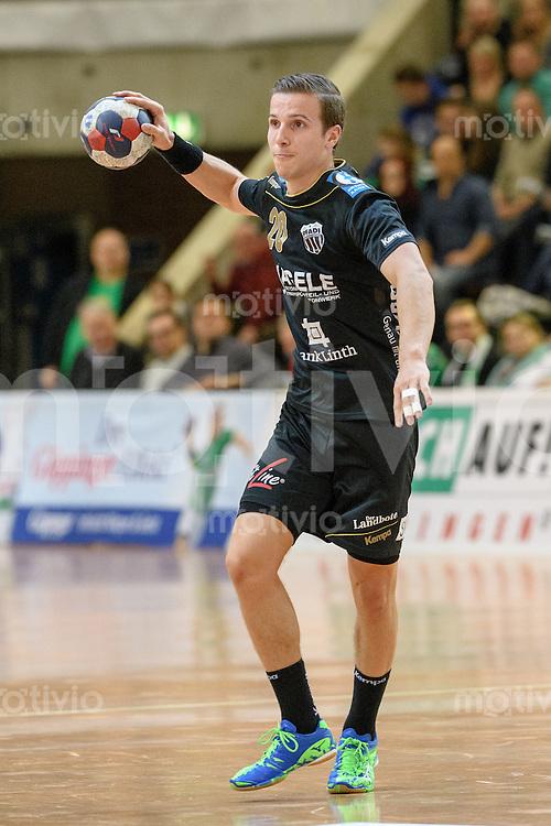 Kevin Jud (Pfadi) am Ball