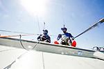 47 Trofeo S.A.R. Princesa Sof&iacute;a IBEROSTAR Palma - F&eacute;d&eacute;ration Fran&ccedil;aise de Voile. 49er, Julien D&rsquo;Ortoli<br /> No&eacute; Delpech.