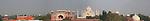 Taj Mahal Panoramic, India