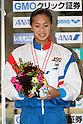 Kanako Watanabe, .FEBRUARY 11, 2012 - Swimming : .The 53rd Japan Swimming Championships (25m) .Women's 100m Individual Medley Victory Ceremony .at Tatsumi International Swimming Pool, Tokyo, Japan. .(Photo by YUTAKA/AFLO SPORT) [1040]