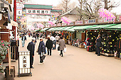 Mar 6, 2006; Tokyo, JPN; Asakusa.Souvenir shops line a side street near the Senso-ji Buddhist temple...Photo credit: Darrell Miho