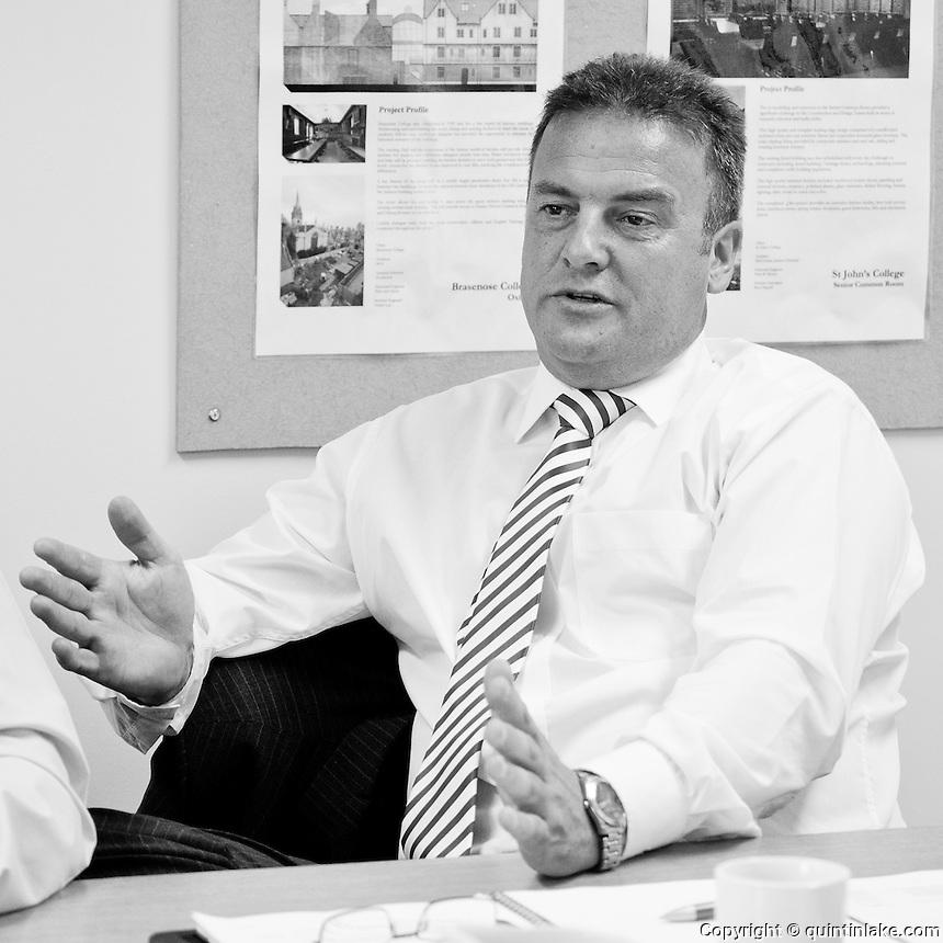 Glynn Biggins, Construction Director, Kingerlee