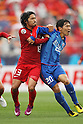 (L to R) Shinzo Koroki (Antlers), Wu Xi (Shanghai), May 3, 2011 - Football :.AFC Champions League 2011, Group H match between Kashima Antlers 2-0 Shanghai Shenhua at National Stadium, Tokyo, Japan. (Photo by Daiju Kitamura/AFLO SPORT) [1045].