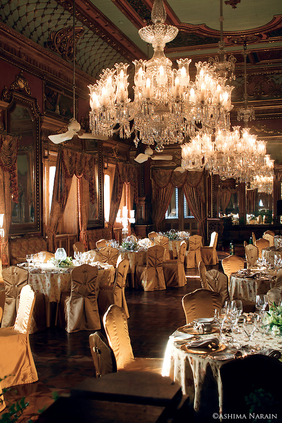 The Banquet Hall Of The Falaknuma Palace Hyderabad