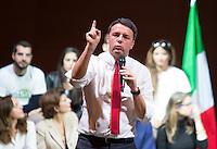"""20161126 ROMA-POLITICA: RENZI ALLA MANIFESTAZIONE PER IL """"SÌ"""" AL REFERENDUM COSTITUZIONALE"""