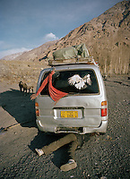 On the road to the end of the Wakhan Corridor..Winter expedition through the Wakhan Corridor and into the Afghan Pamir mountains, to document the life of the Afghan Kyrgyz tribe. January/February 2008. Afghanistan