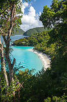 Trunk Bay, St John.Virgin Islands National Park