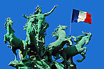 Liberte Egalite Fraternite, Liberty Equality Fraternity Paris France
