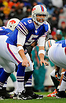 9 December 2007: Buffalo Bills rookie quarterback Trent Edwards (5) in action against the Miami Dolphins at Ralph Wilson Stadium in Orchard Park, NY. The Bills defeated the Dolphins 38-17. ..Mandatory Photo Credit: Ed Wolfstein Photo