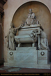 Cenotaph of Dante Alighieri Stefano Ricci 1829 Santa Croce Florence
