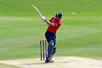 Alastair Cook hits four runs for Essex during Kent Spitfires vs Essex Eagles, Royal London One-Day Cup Cricket at the St Lawrence Ground on 17th May 2017