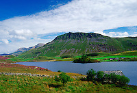 Cader Idris Mountain with lake in the foreground, Wales, United Kingdom