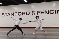 Stanford Fencing Fencing Action, January 12, 2017