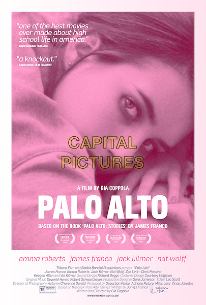 POSTER ART<br /> in Palo Alto (2013) <br /> *Filmstill - Editorial Use Only*<br /> CAP/FB<br /> Image supplied by Capital Pictures