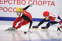 "SHORT TRACK: MOSCOW: Speed Skating Centre ""Krylatskoe"", 14-03-2015, ISU World Short Track Speed Skating Championships 2015, Dajing WU (#115 