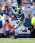 30 September 2007: New York Jets running back Leon Washington in action against the Buffalo Bills at Ralph Wilson Stadium in Orchard Park, NY. The Bills defeated the Jets 17-14 handing the Jets their third loss of the season...Mandatory Photo Credit: Ed Wolfstein Photo for UPI