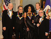Washington, DC - December 1, 2007 --  at the United States Department of State for the gala dinner honoring the 30th Annual Kennedy Center honorees in Washington, D.C. on Saturday, December 1, 2007.   The honorees for 2007 are: Leon Fleischer, Steve Martin, Diana Ross, Martin Scorsese, and Brian Wilson..Credit: Ron Sachs / CNP