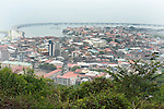 View of Old City, from Ancon Hill, Panama, Central America