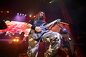 SABATON - guitarist Chris Rorland - performing live at the O2 Academy in Glasgow Scotland UK - 11 Jan 2017.  Photo credit: Paul Harries/IconicPix **NOT AVAILABLE FOR UK MUSIC MAGAZINES**
