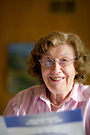 Betty Adams Roach at home