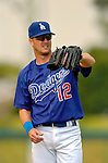 19 March 2006: Jeff Kent, infielder for the Los Angeles Dodgers, warms up prior to a Spring Training game against the Washington Nationals at Holeman Stadium, in Vero Beach, Florida. The Dodgers defeated the Nationals 9-1 in Grapefruit League play...Mandatory Photo Credit: Ed Wolfstein Photo..