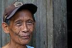 A man in Mindanao.