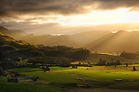 Job110101_NewZealand_DSC2184_NX_Final.tif.TakakaValley_FINAL.Afternoon Light, Takaka Valley, Upper Takaka..Looking towards Kahurangi National Park..South Island, New Zealand.