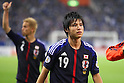 (L to R) Keisuke Honda (JPN), Ryo Miyaichi (JPN), .June 3, 2012 - Football / Soccer : .FIFA World Cup Brazil 2014 Asian Qualifier Final Round, Group B .match between Japan 3-0 Oman .at Saitama Stadium 2002, Saitama, Japan. .(Photo by Daiju Kitamura/AFLO SPORT) [1045]