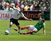 Landon Donovan. USA Men's National Team loses to Mexico 2-1, August 12, 2009 at Estadio Azteca, Mexico City, Mexico. .   .