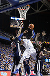 UK forward Nerlens Noel goes to shoot a basket during the first half of the men's basketball game vs. Samford at Rupp Arena in Lexington, Ky., on Tuesday, December 4, 2012. Photo by Emily Wuetcher | Staff..