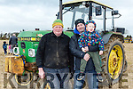 Enjoying the Causeway Ploughing Match at O'Connor farm, Sally Road, Ballyduff on Sunday were Christy O'Mahony, Thomas Donegan and Tommy Donegan
