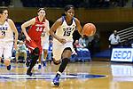 17 December 2015: Duke's Kyra Lambert. The Duke University Blue Devils hosted the Liberty University Flames at Cameron Indoor Stadium in Durham, North Carolina in a 2015-16 NCAA Division I Women's Basketball game. Duke won the game 79-41.