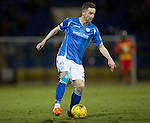 St Johnstone v Partick Thistle&hellip;02.03.16  SPFL McDiarmid Park, Perth<br />Steven MacLean<br />Picture by Graeme Hart.<br />Copyright Perthshire Picture Agency<br />Tel: 01738 623350  Mobile: 07990 594431