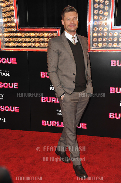 "Ryan Seacrest at the Los Angeles premiere of ""Burlesque"" at Grauman's Chinese Theatre, Hollywood..November 15, 2010  Los Angeles, CA.Picture: Paul Smith / Featureflash"