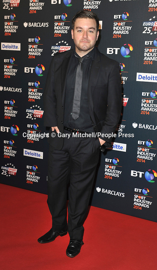 Alex Brooker attends the BT Sport Industry Awards at Battersea Evolution on May 8, 2014 in London, England